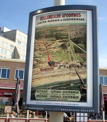 Poster van de Hofpleinlijn