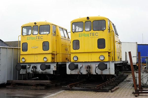 Wonderlijk Langs de rails EY-38