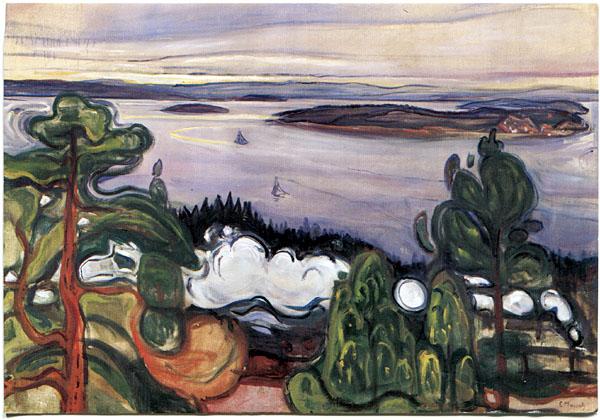 olieverfschilderij bossen herfst