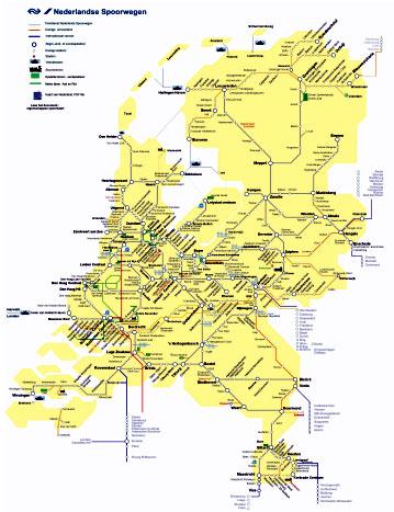 kaart van nederland pdf
