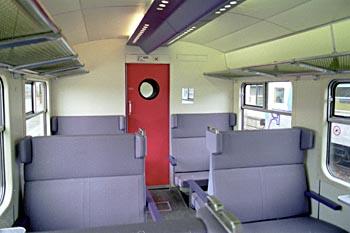 Treinstellen plan t en plan v - Van plan interieur ...