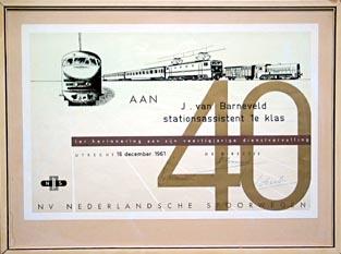 40 jaar jubileum kado 40 Jaar Jubileum Werk Kado   ARCHIDEV 40 jaar jubileum kado