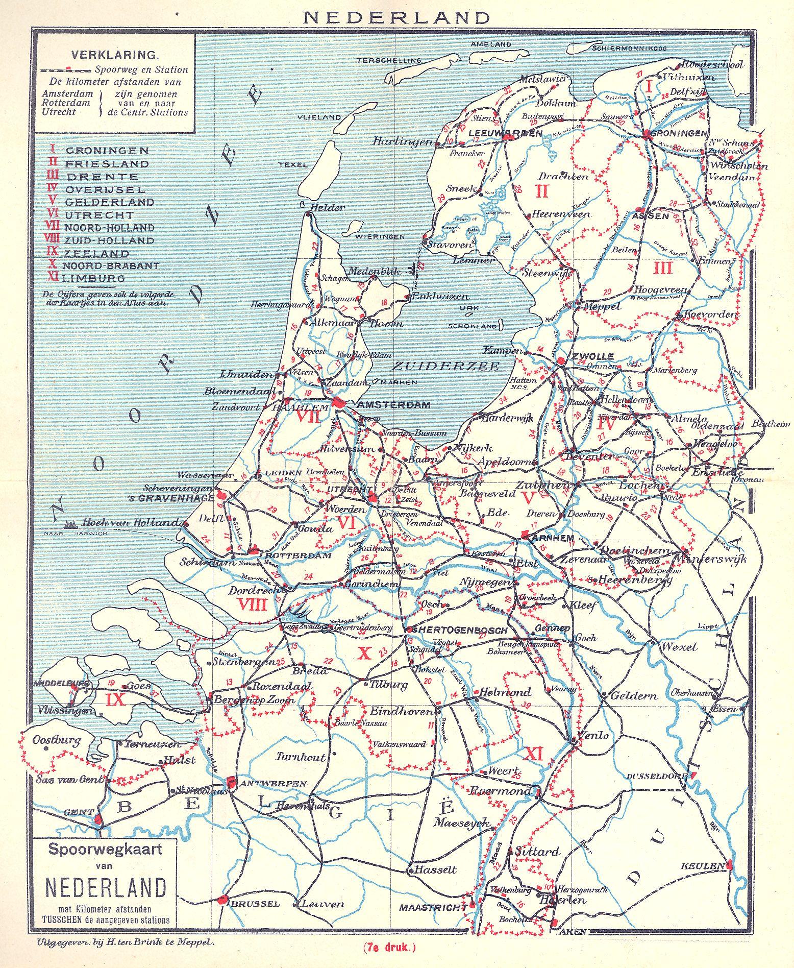 kaart west duitsland